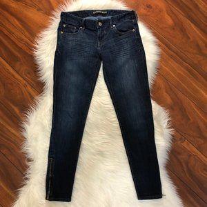EXPRESS Jeans Stella Zipped Ankle Legging 2R